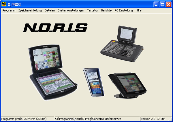 Software Noris QProg